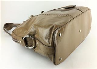 YVES SAINT LAURENT PATENT LEATHER MUSE HOBO SHOULDER BAG (MAX074780 ... 073ad29521